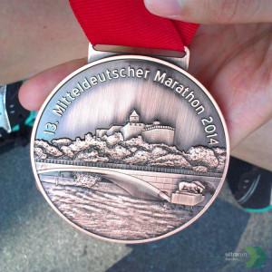 Mitteldeutscher Marathon Halle 2014.