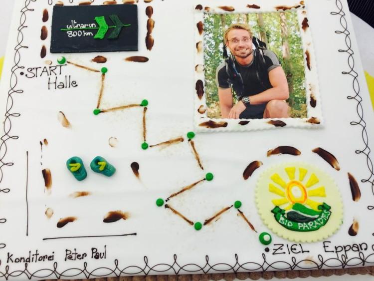Danke an die Konditorei Peter Paul für einen super leckeren Sieger-Kuchen.