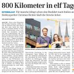 """18.07.2015 – """"800 Kilometer in elf Tagen"""" – MZ HALLE"""