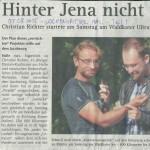 """05.08.2015 – """"Hinter Jena nicht verdurstet"""" – WOCHENSPIEGEL HALLE"""