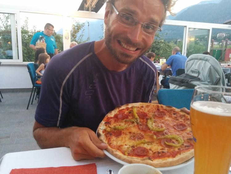 Danke an das Restaurant Pfeffermühle für die Einladung zum Pizza-Essen am Sieges-Abend.