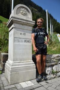 Grenzen überschreiten: Nicht nur die eigenen, sondern auch die geographischen (Österreich - Italien).