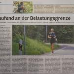 """06.08.2015 – """"Laufend an der Belastungsgrenze"""" – DOLOMITEN"""